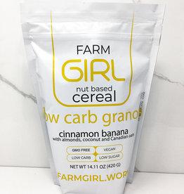 Farm Girl Farm Girl - Cereal, Cinnamon Banana Low Carb Granola