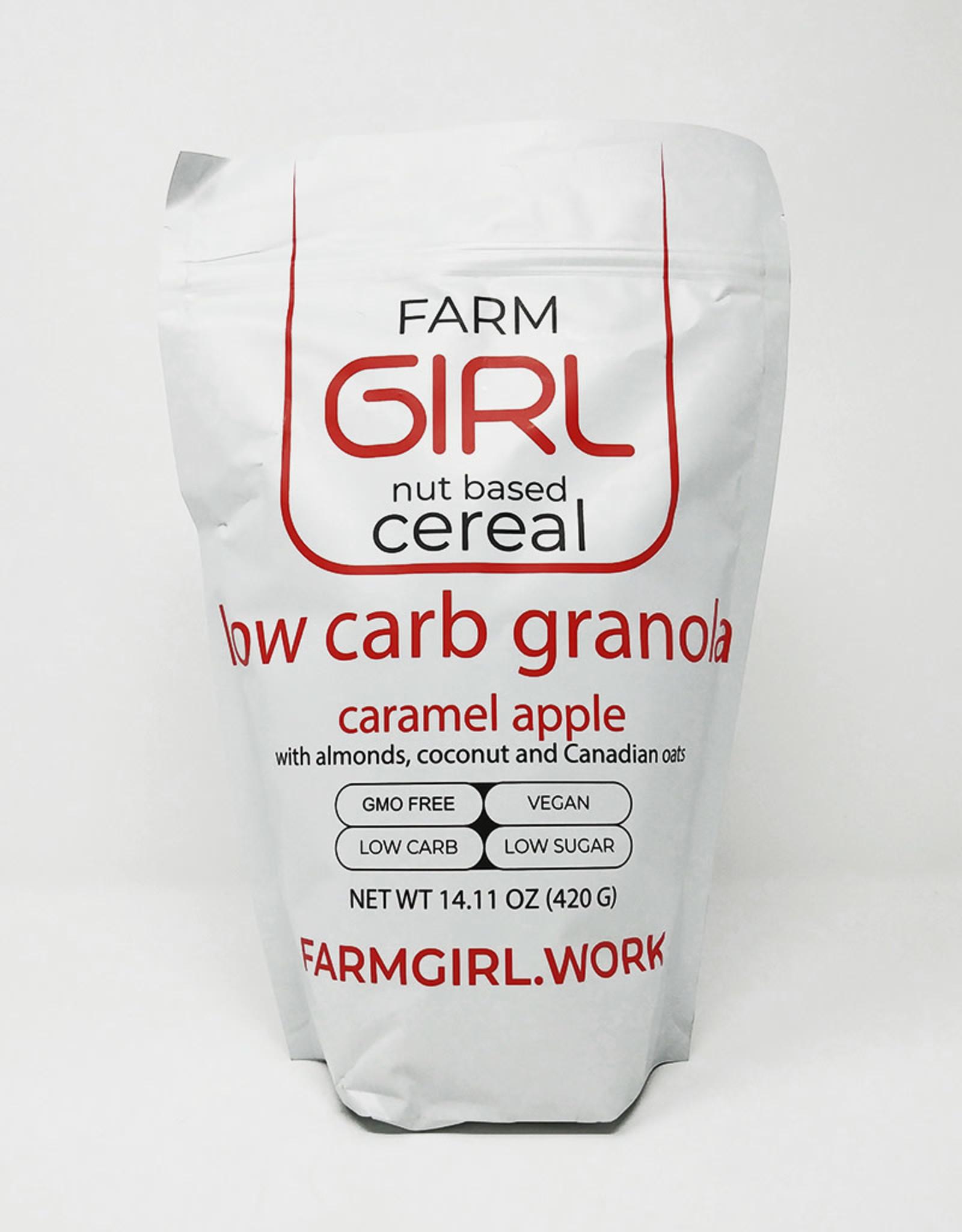 Farm Girl Farm Girl - Cereal, Low Carb Caramel Apple (420g)