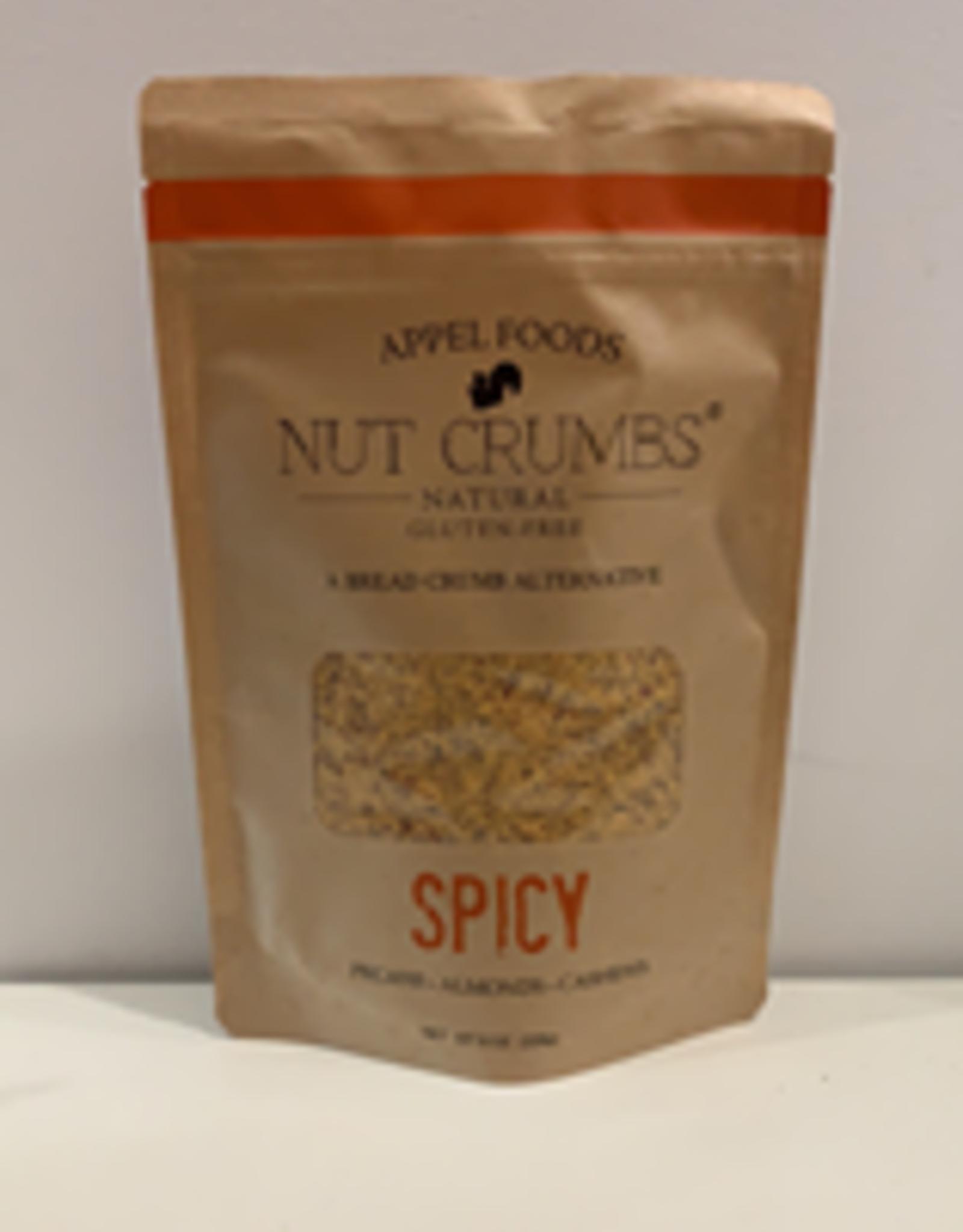 Appel Foods Nut Crumbs - Spicy, 226g