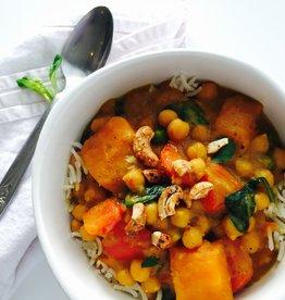 Nela's Kitchen Nelas Kitchen - Thai Vegetable Yellow Curry