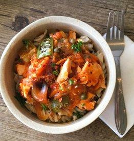Nela's Kitchen Nelas Kitchen - Chicken Cacciatore Bowl