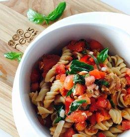 Nela's Kitchen Nelas Kitchen - Pesto Pasta Sausage Bowl