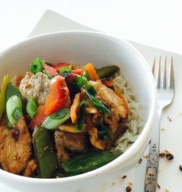 Nela's Kitchen Nelas Kitchen - Pork Stir Fry Bowl