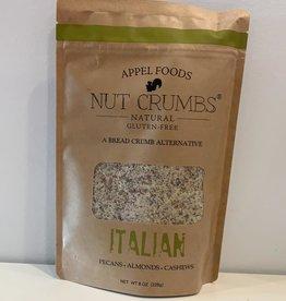 Appel Foods Nut Crumbs - Italian, 226g