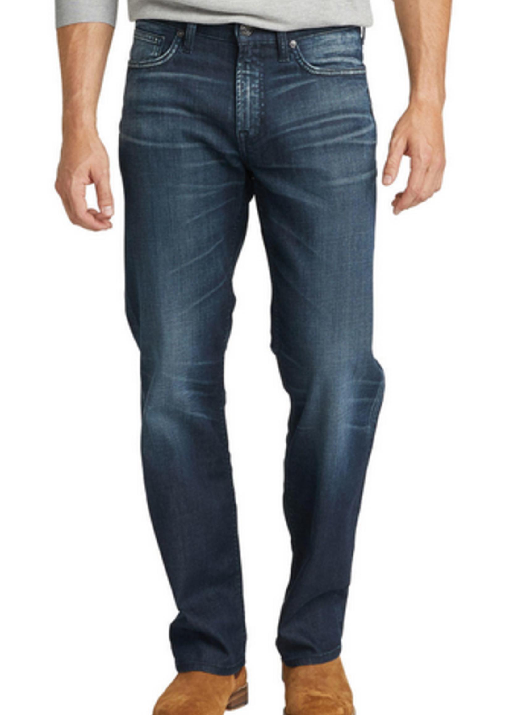 Silver Grayson, Easy fit, Straight leg