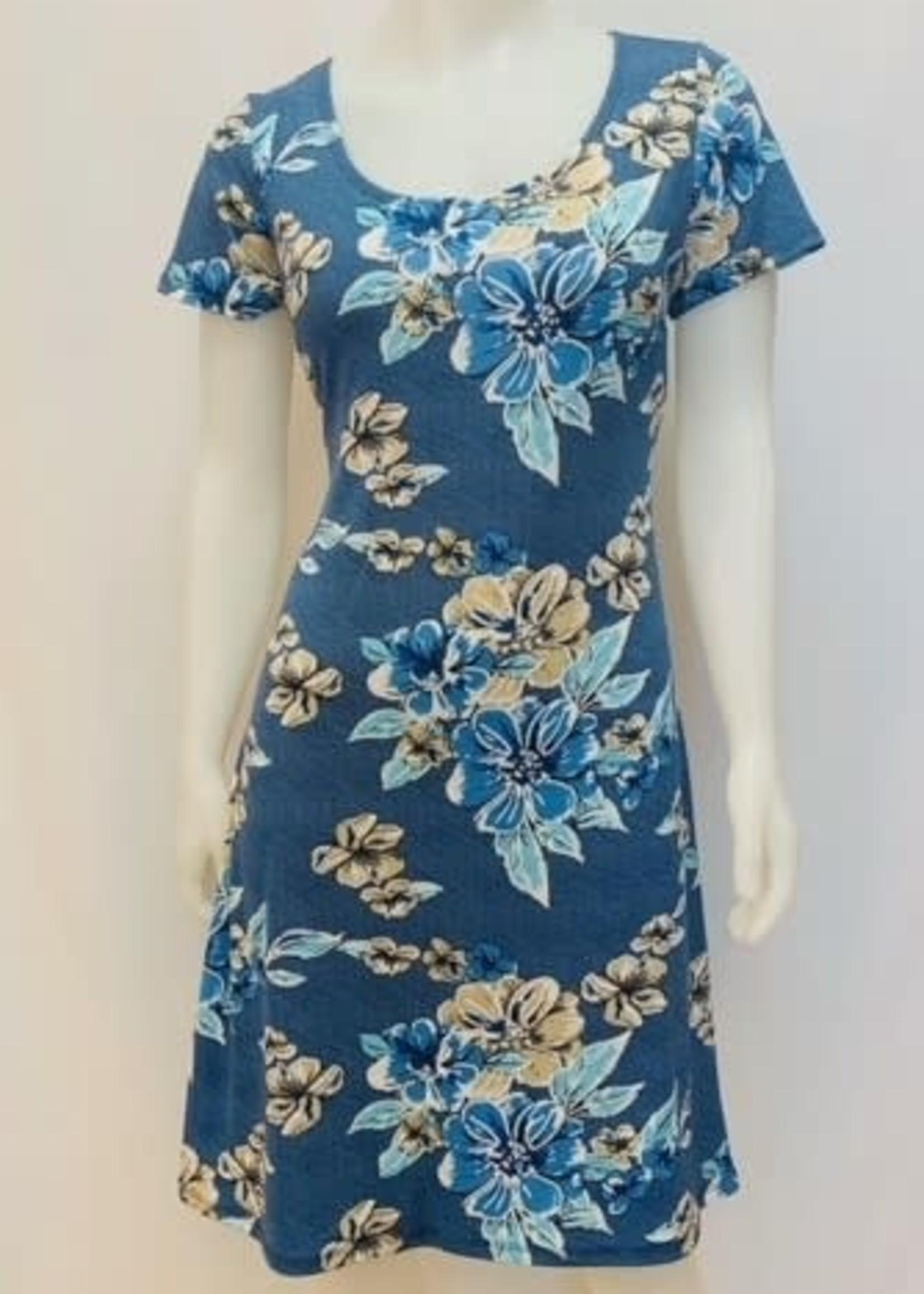 Julia Divina Short Sleeve Dress