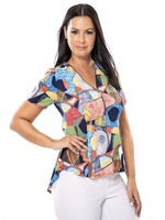 Bali Blouse with front zip