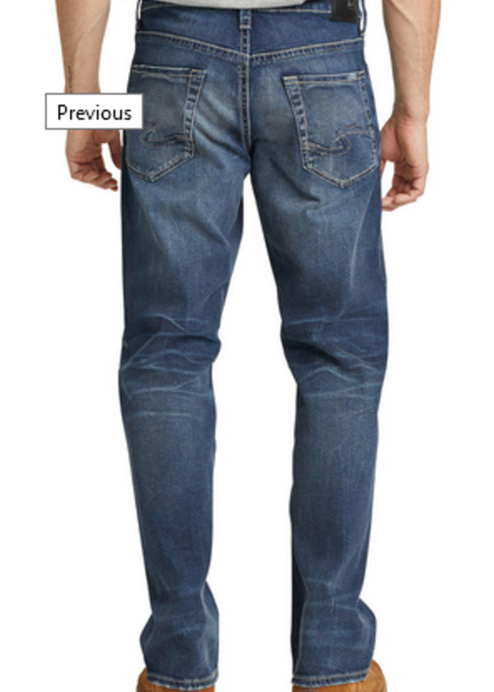 Silver Zac Relaxed Fit