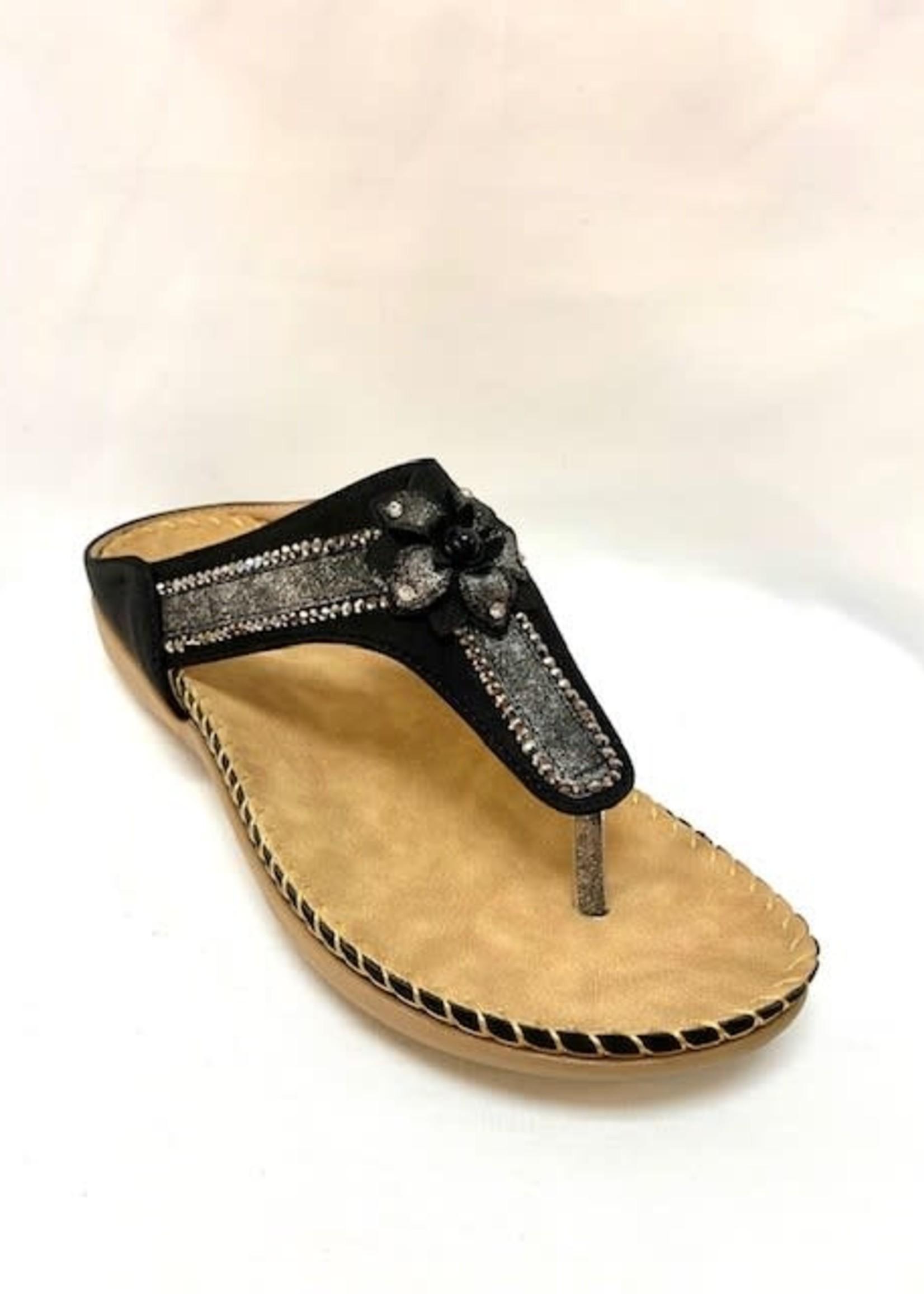JJ Thong sandals, three variant colors