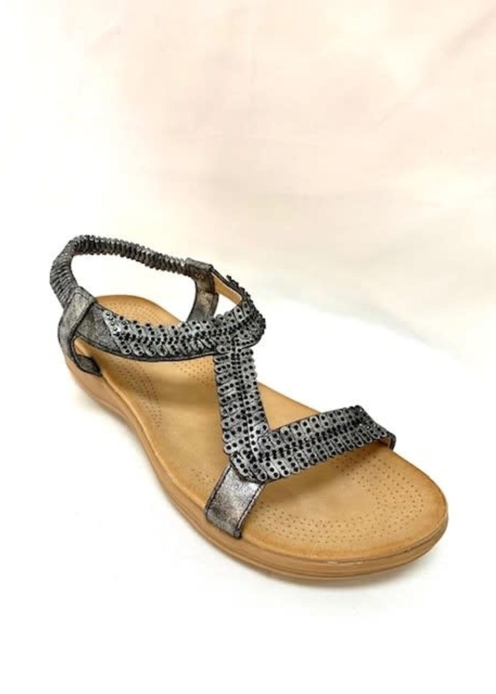 JJ Ladies sandals, three variant colors