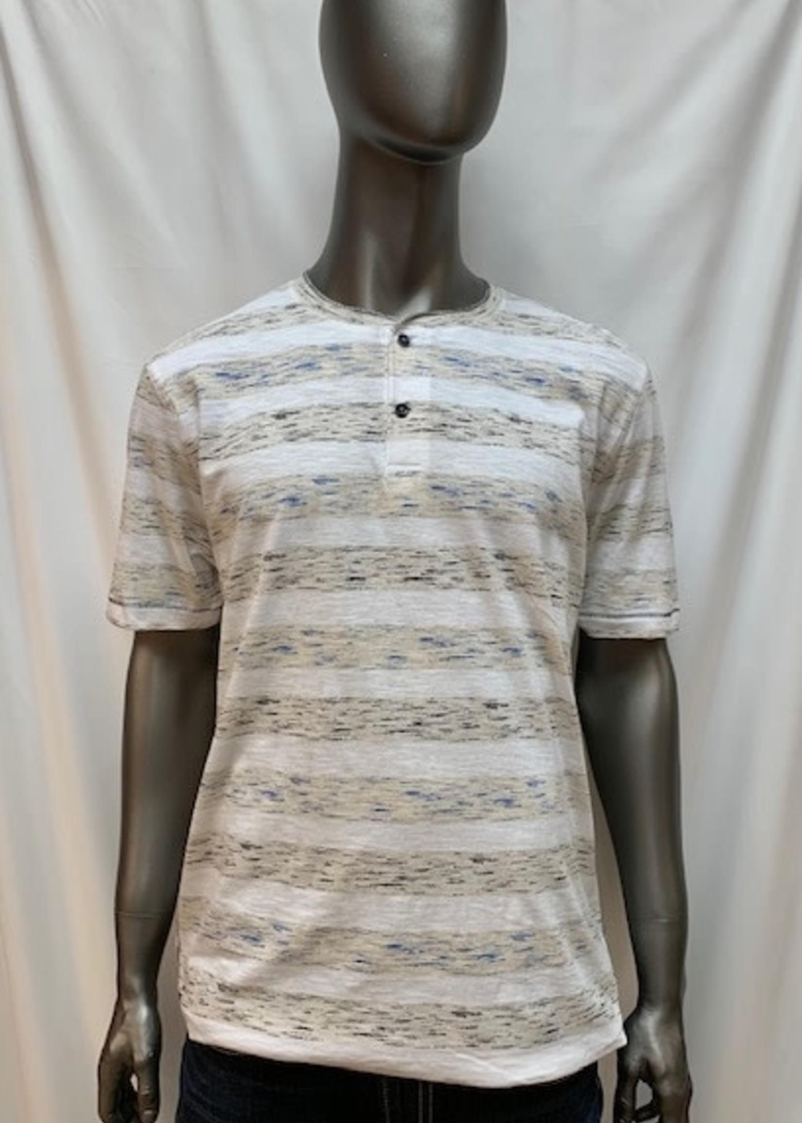 Point Zero Two button collar, T-Shirt