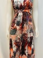 Papillon Sleeveless maxi dress
