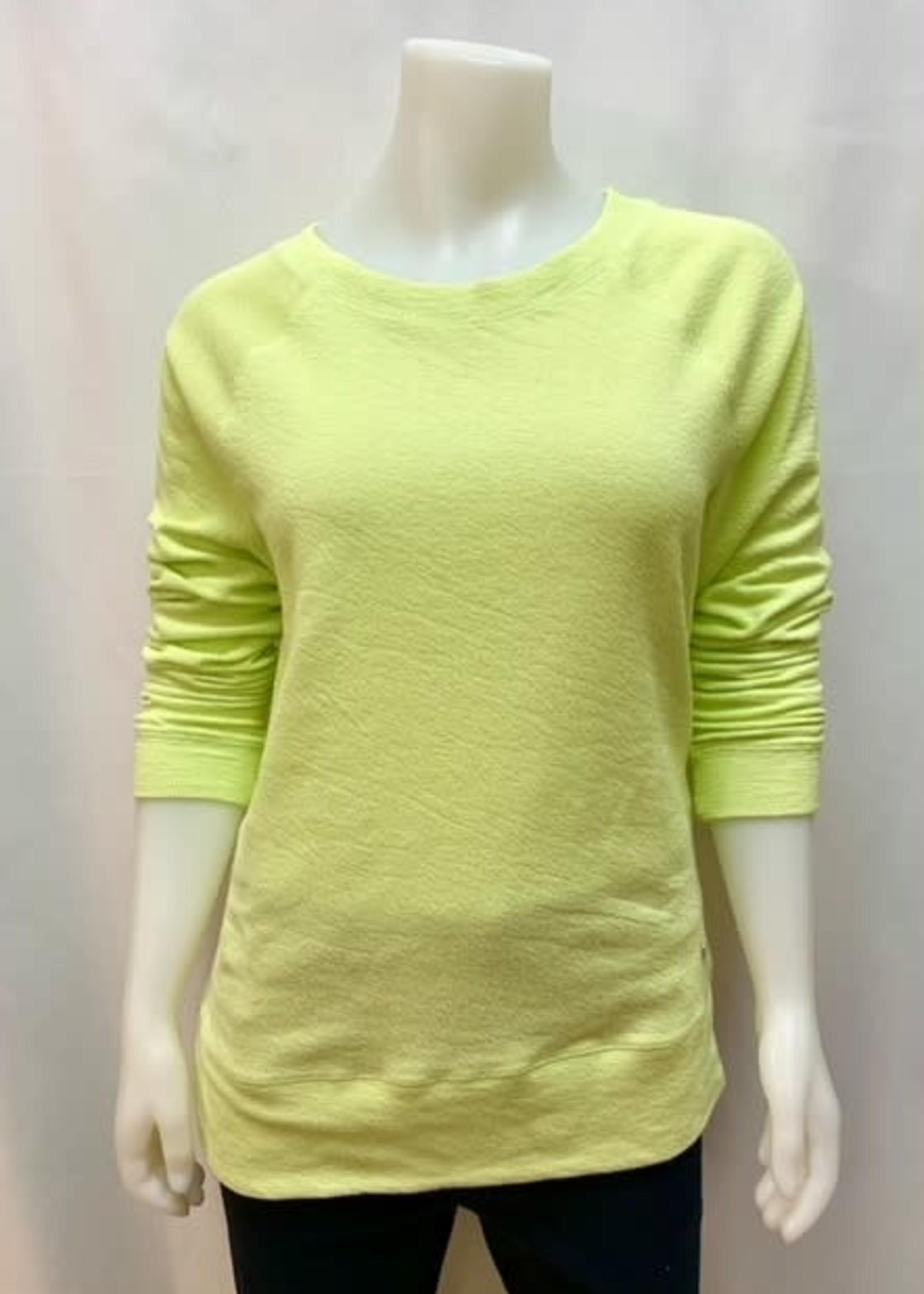 Point Zero Raglan sweatshirt