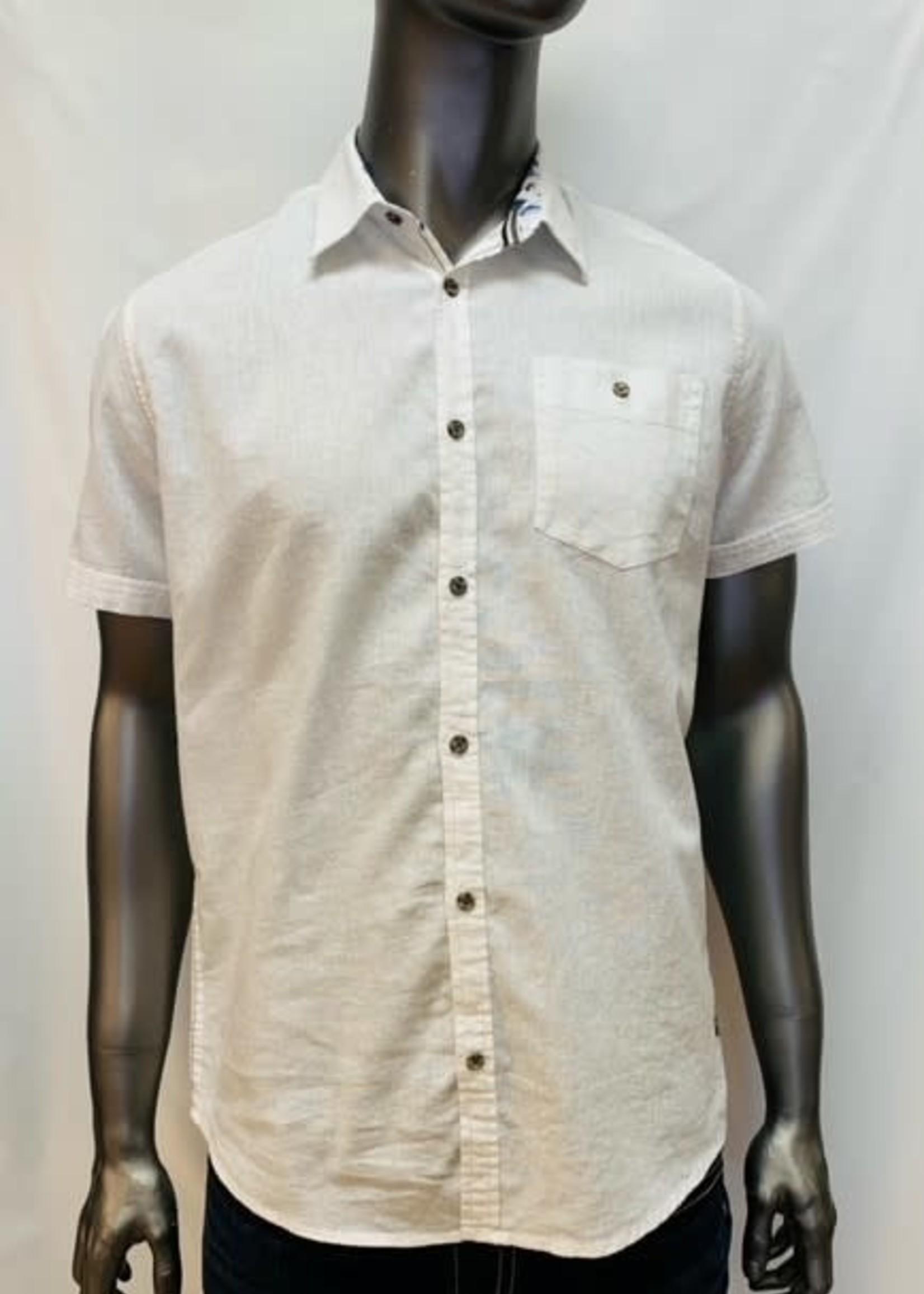 Point Zero Short Sleeve Button Shirt