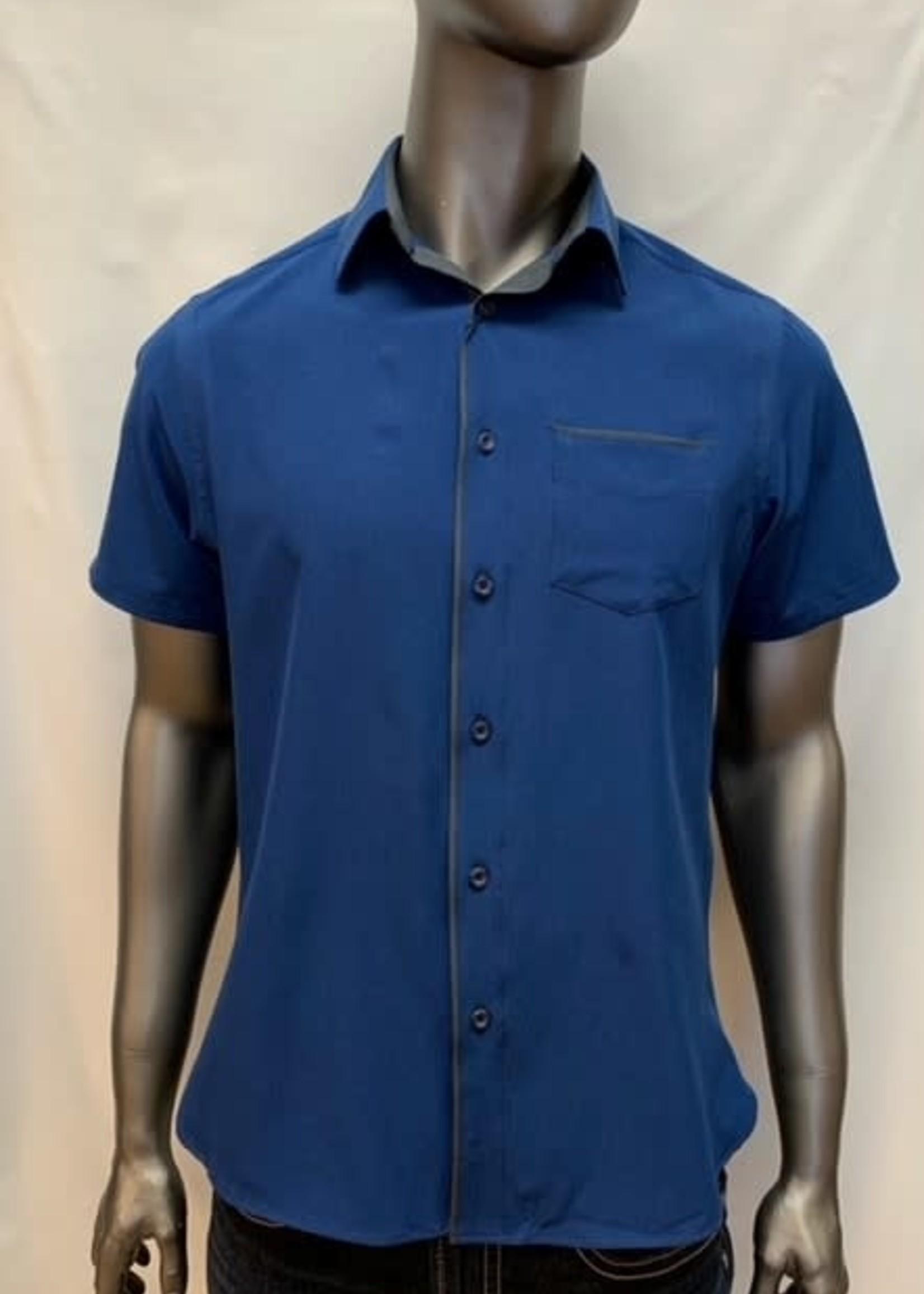 Vincent D'Amerique Short Sleeve Button Shirt