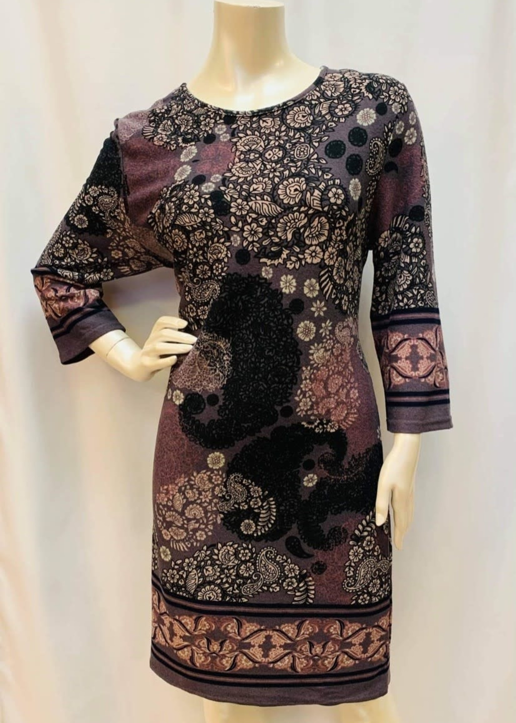 Papillon Dress, available in two patterns