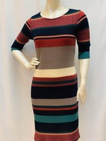 Papillon Multi Stripe Dress