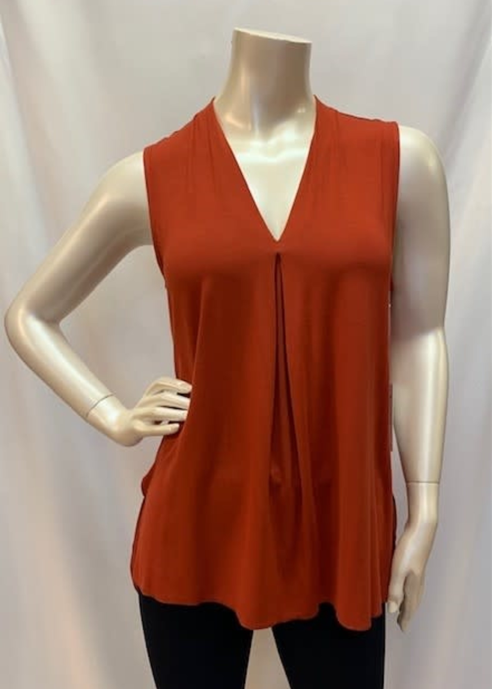 DKR & Co  V-Neck Long Tank, also available in blue