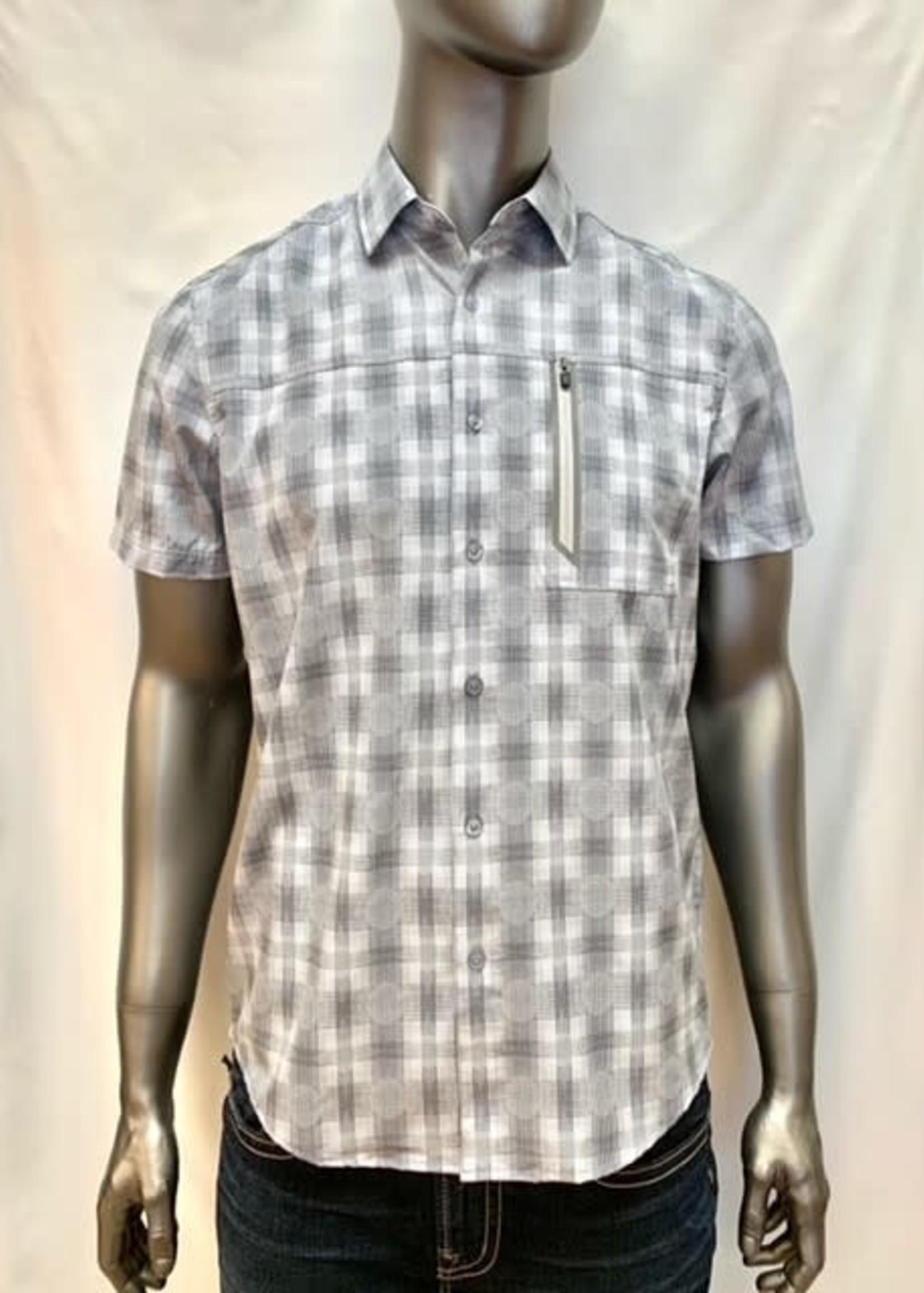 Point Zero Short Sleeve Shirt, three different patterns