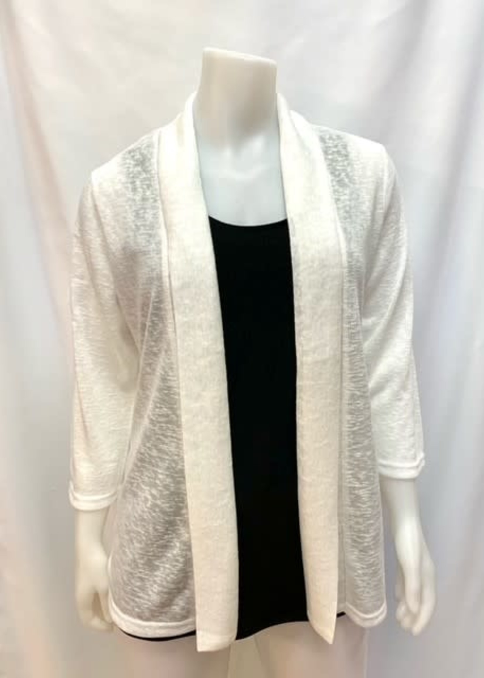 La Madonna Open Cardigan, available in two colors