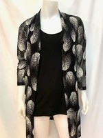 Lavena Cardigan, 3/4 sleeve, long , two styles available