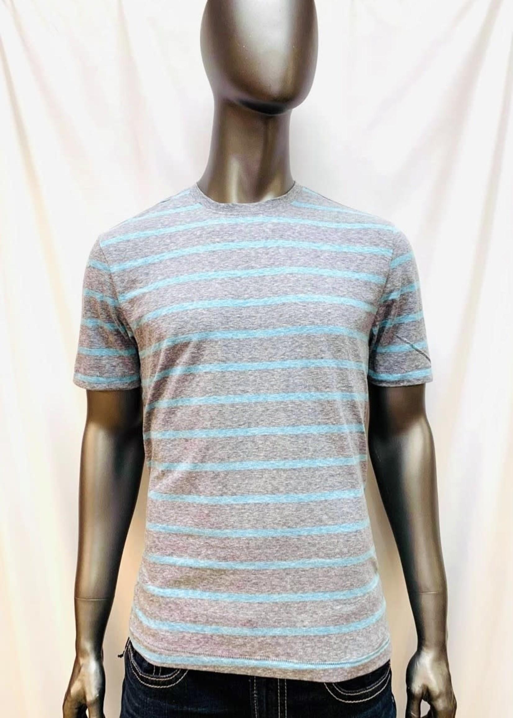 Point Zero Stripped T-Shirt
