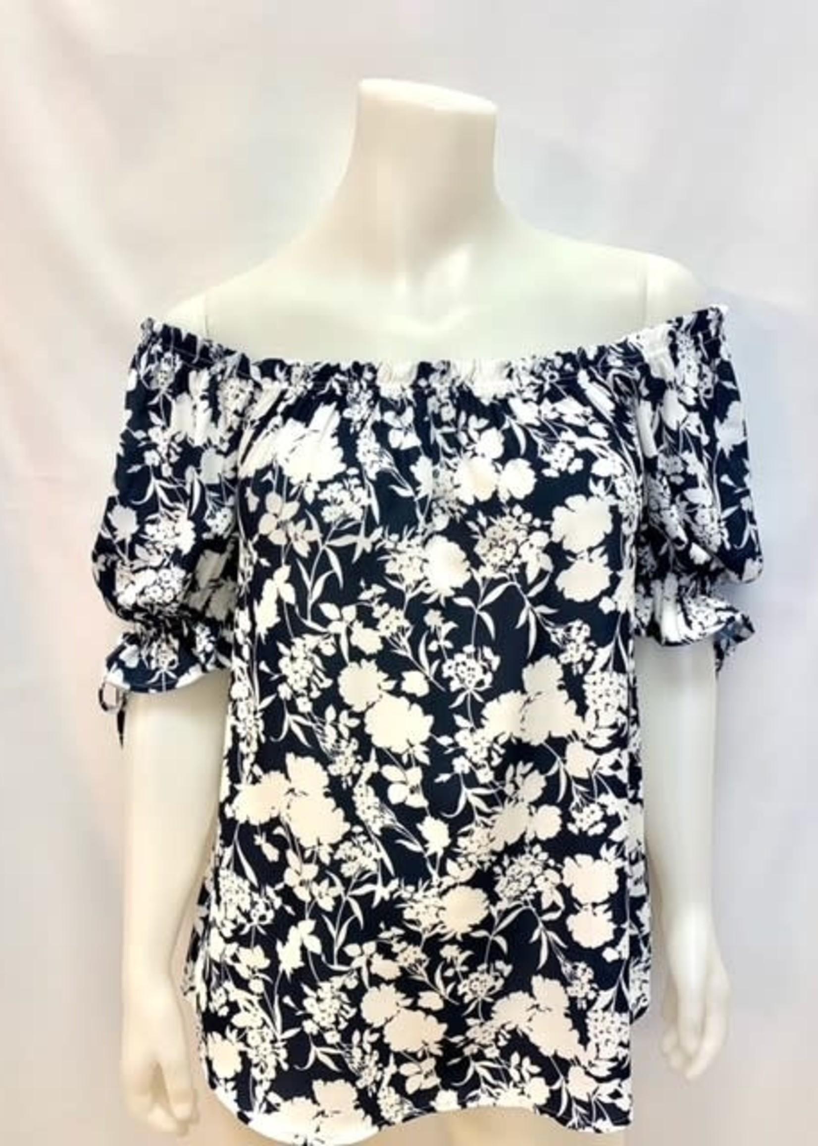Point Zero floral blouse