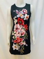 Point Zero Black Floral Dress