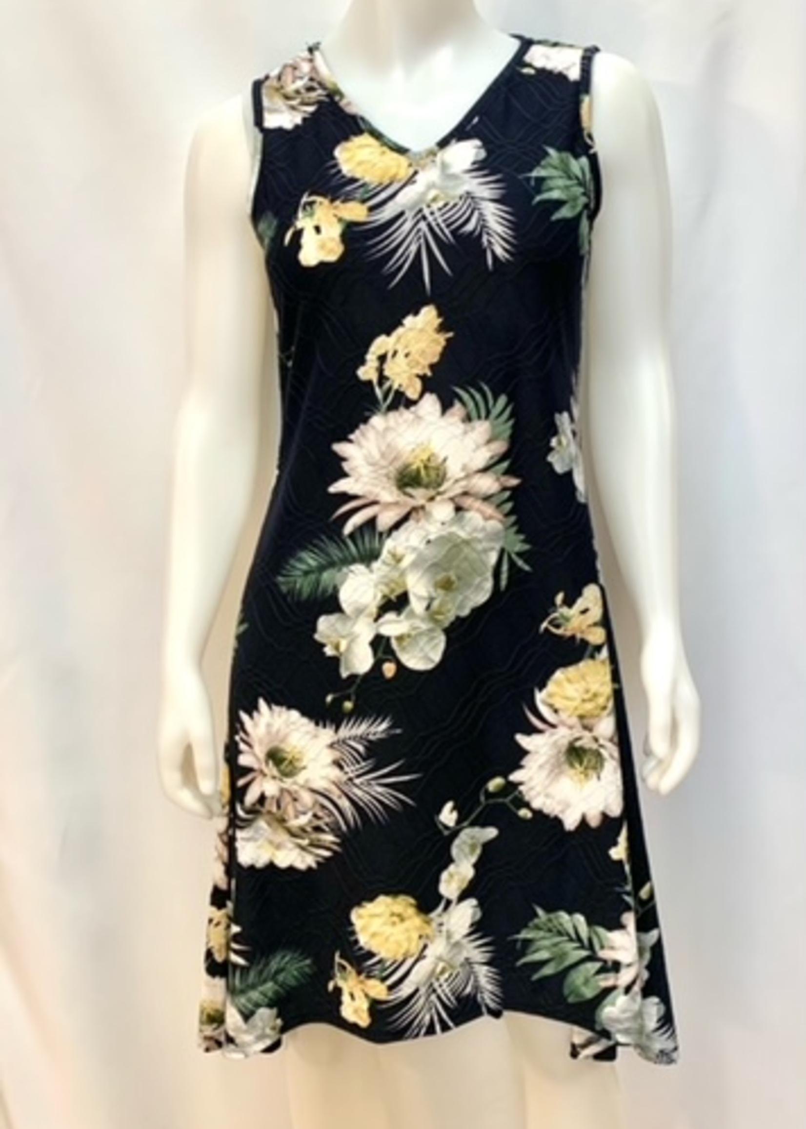 Isca Sleeveless floral Dress