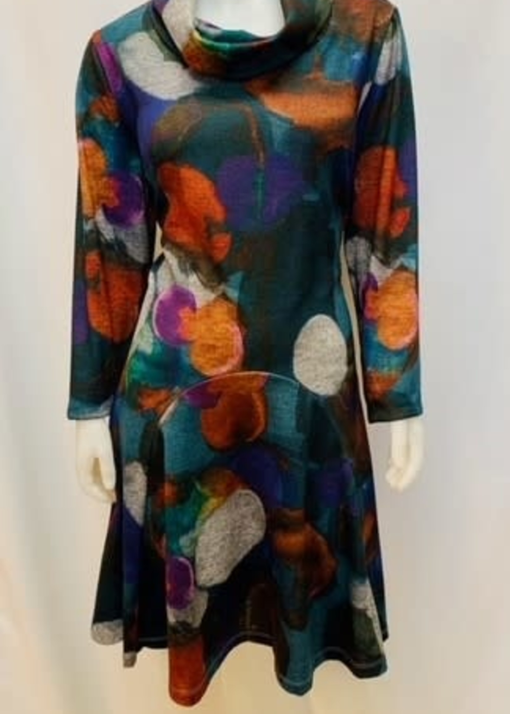Artex Multi Print Dress
