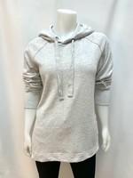 DKR & Co Long sleeve hoodie w/ side slits