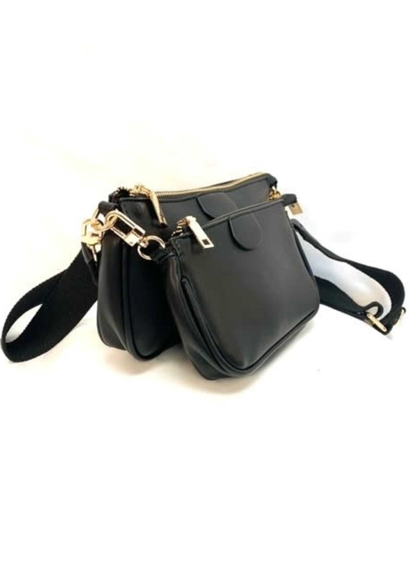 Blush 2 in 1 crossbody purse