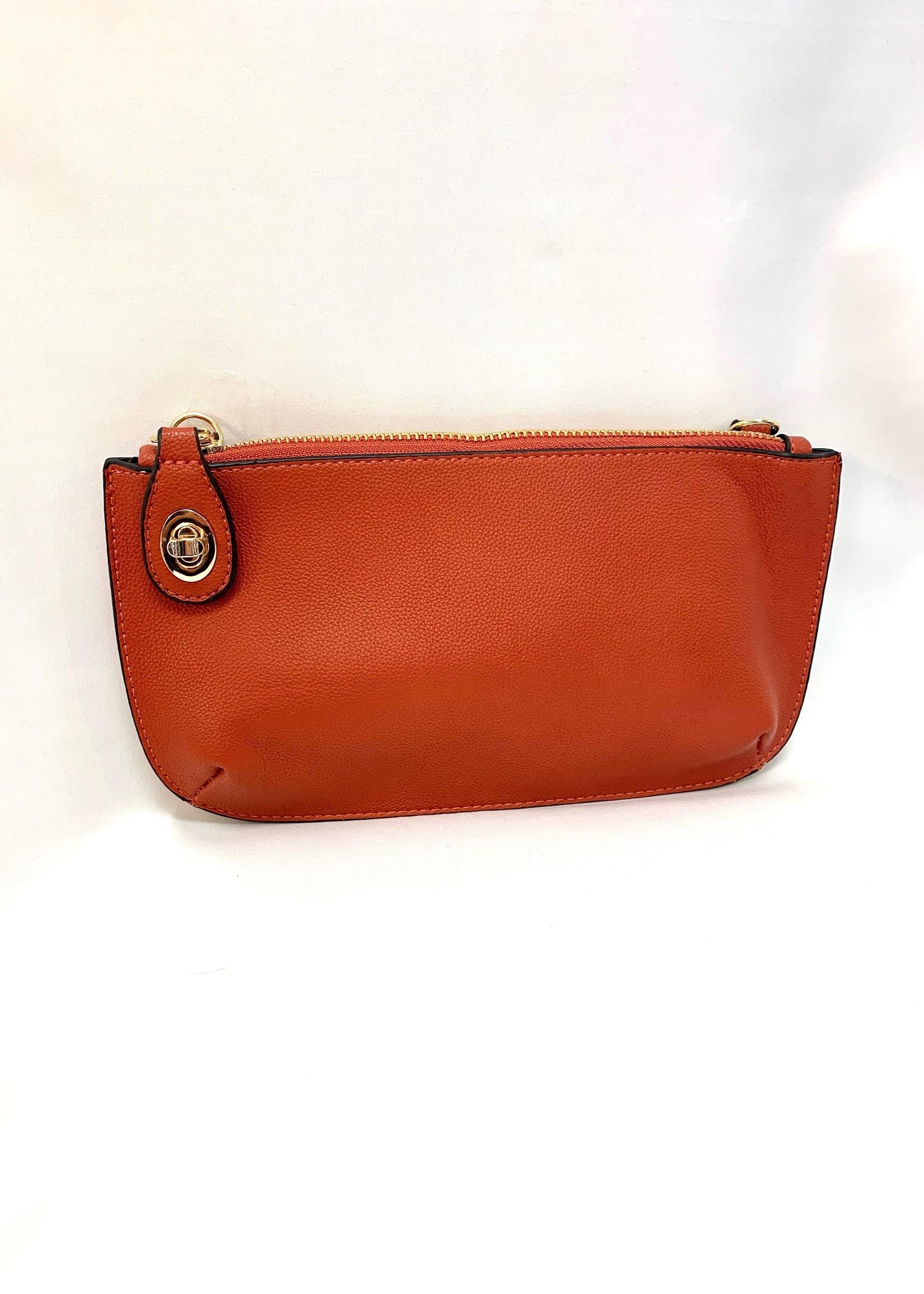 Blush clutch purse