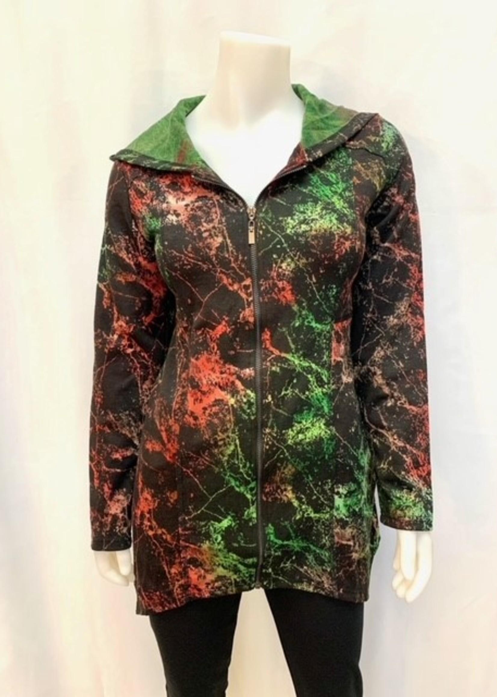 Creations Hood Jacket with Zipper