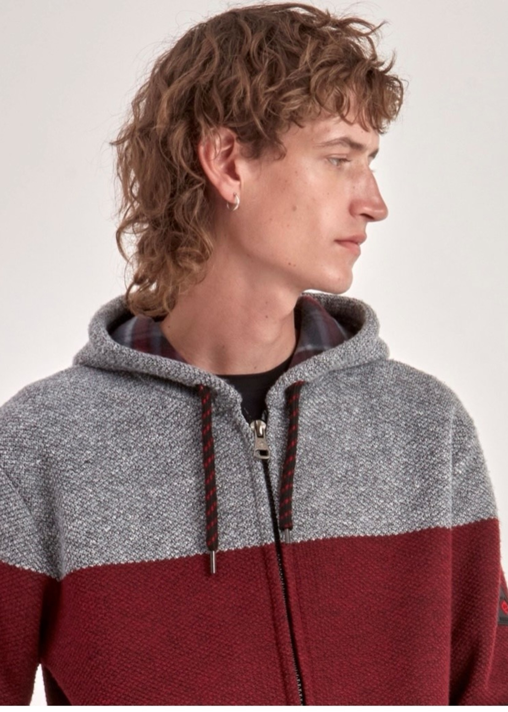 Point Zero Zip Sweater