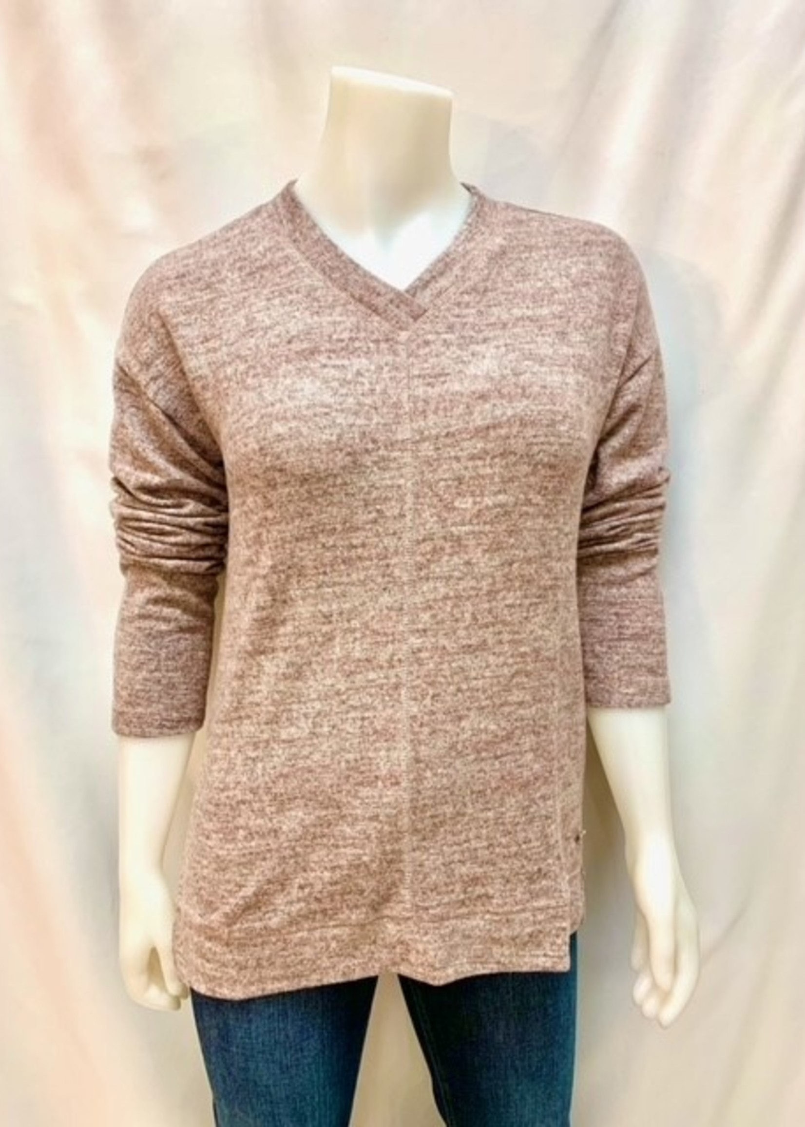 Point Zero  V-neck knit sweater