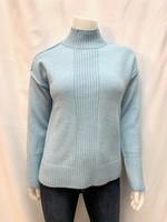 Point Zero Mock Neck Sweater