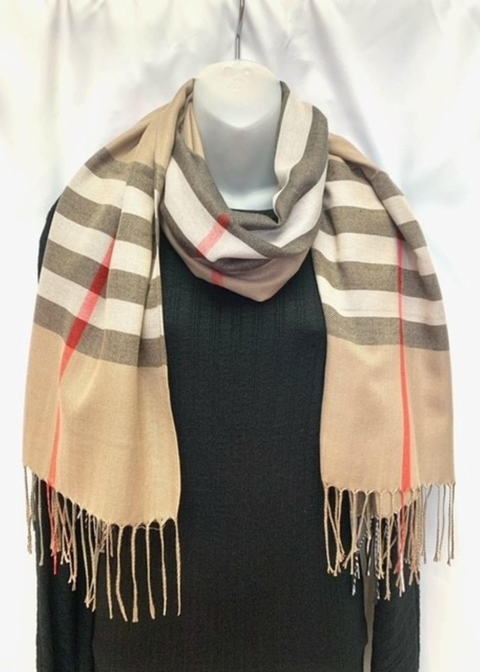 Albee  burberry rayon scarf