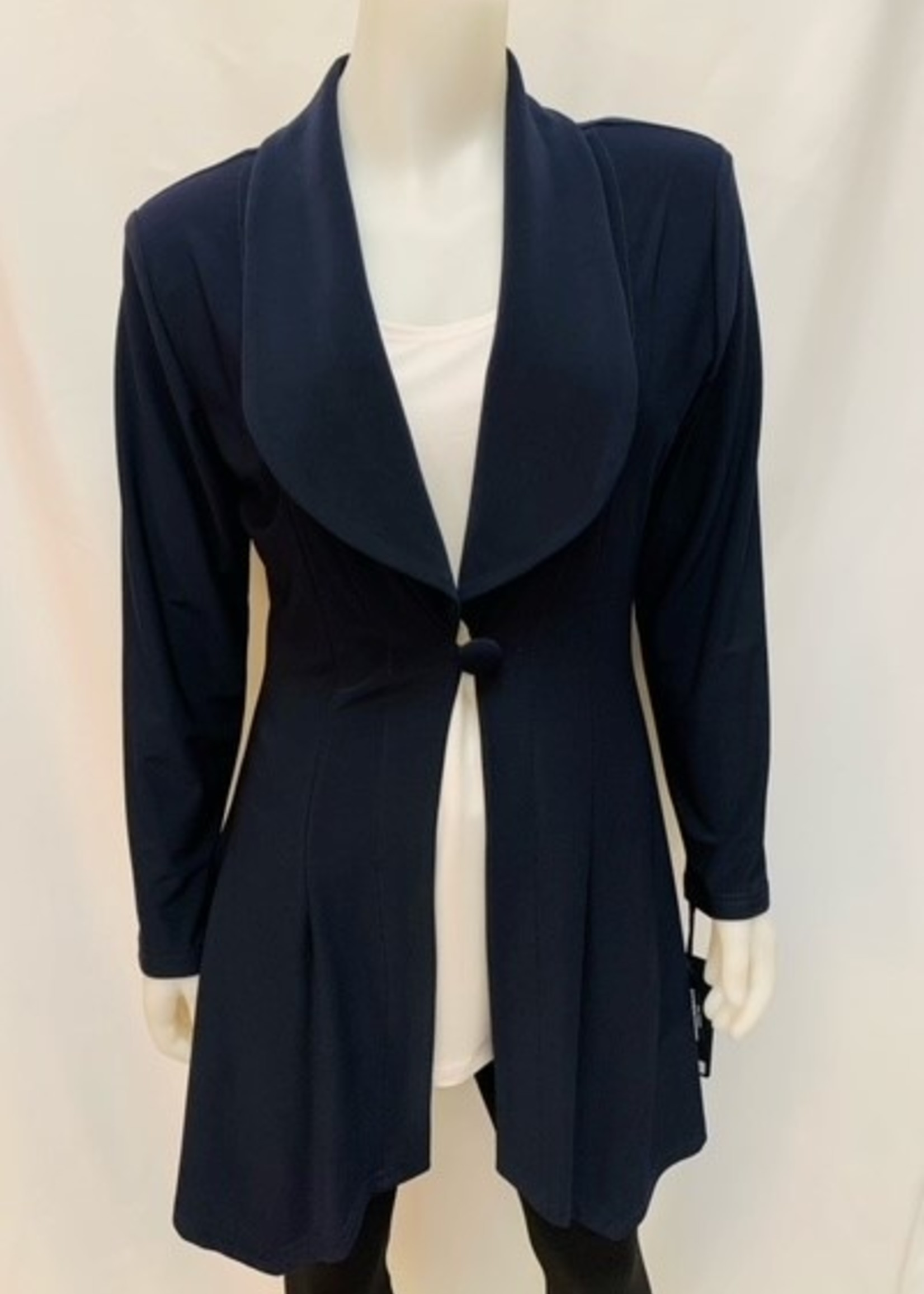 Artex  long blazer with one front button