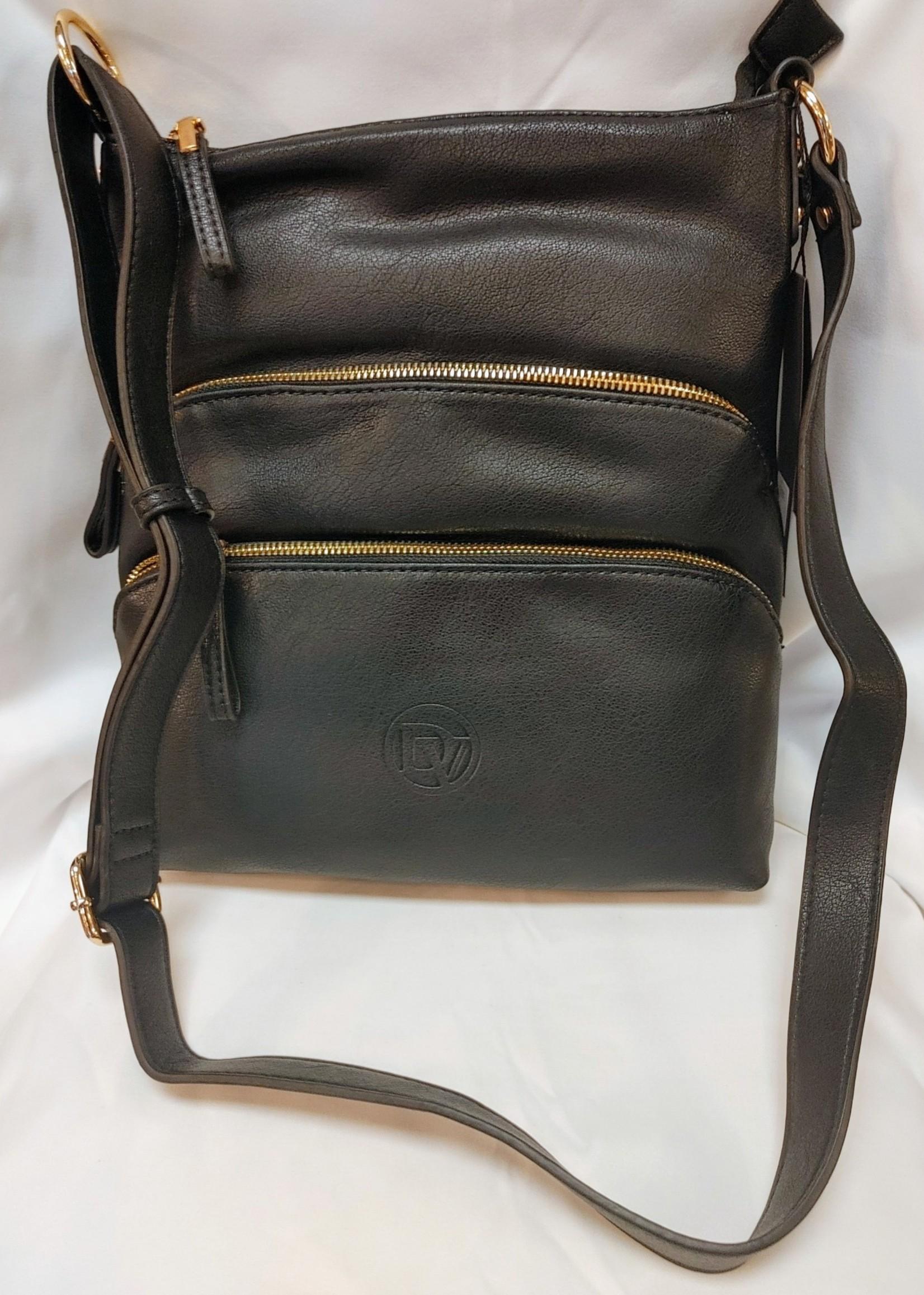 La Diva  top zip closure purse