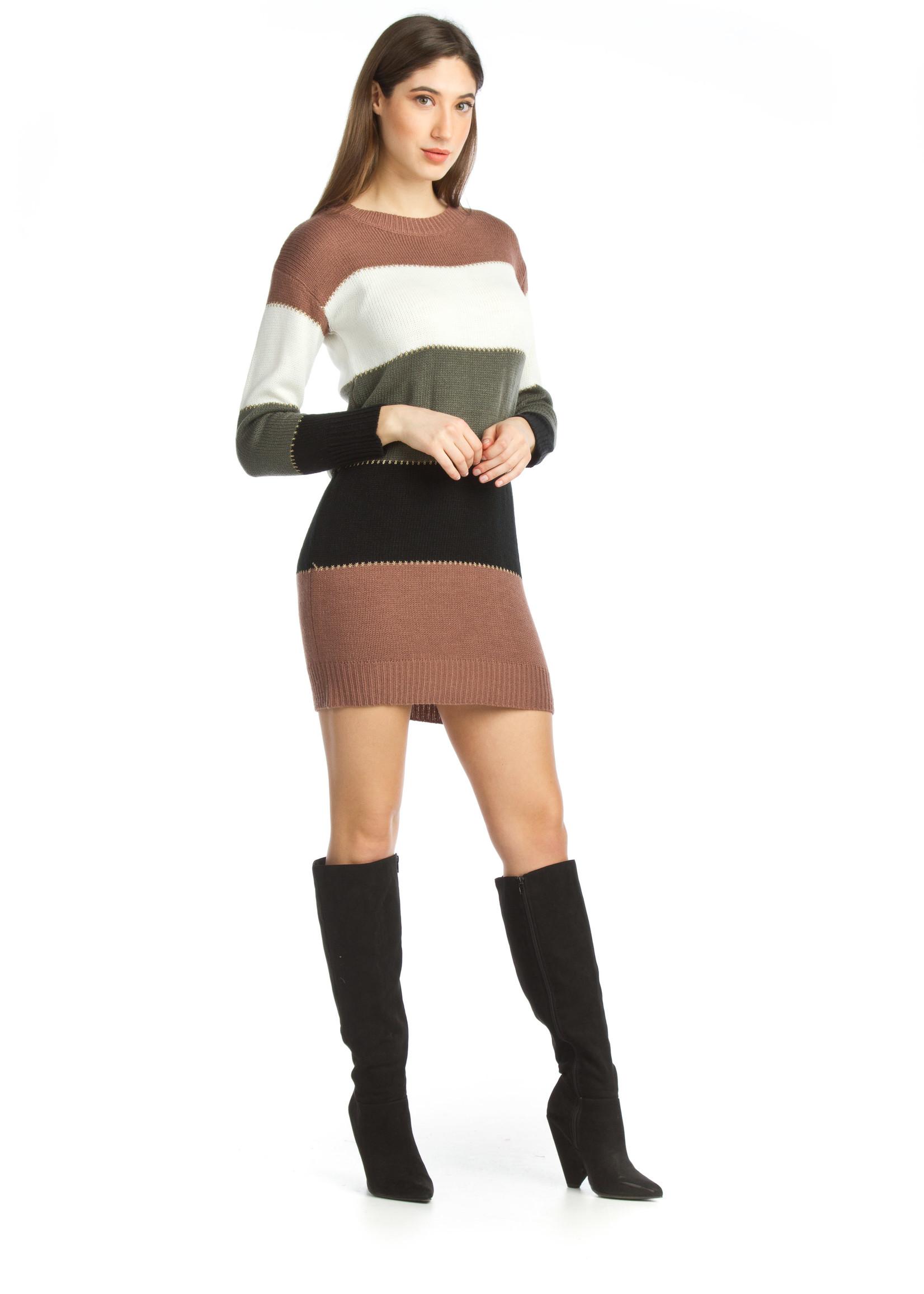 Papillon  knit sweater dress