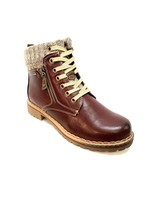 Frontier North short lace up boot with side zip
