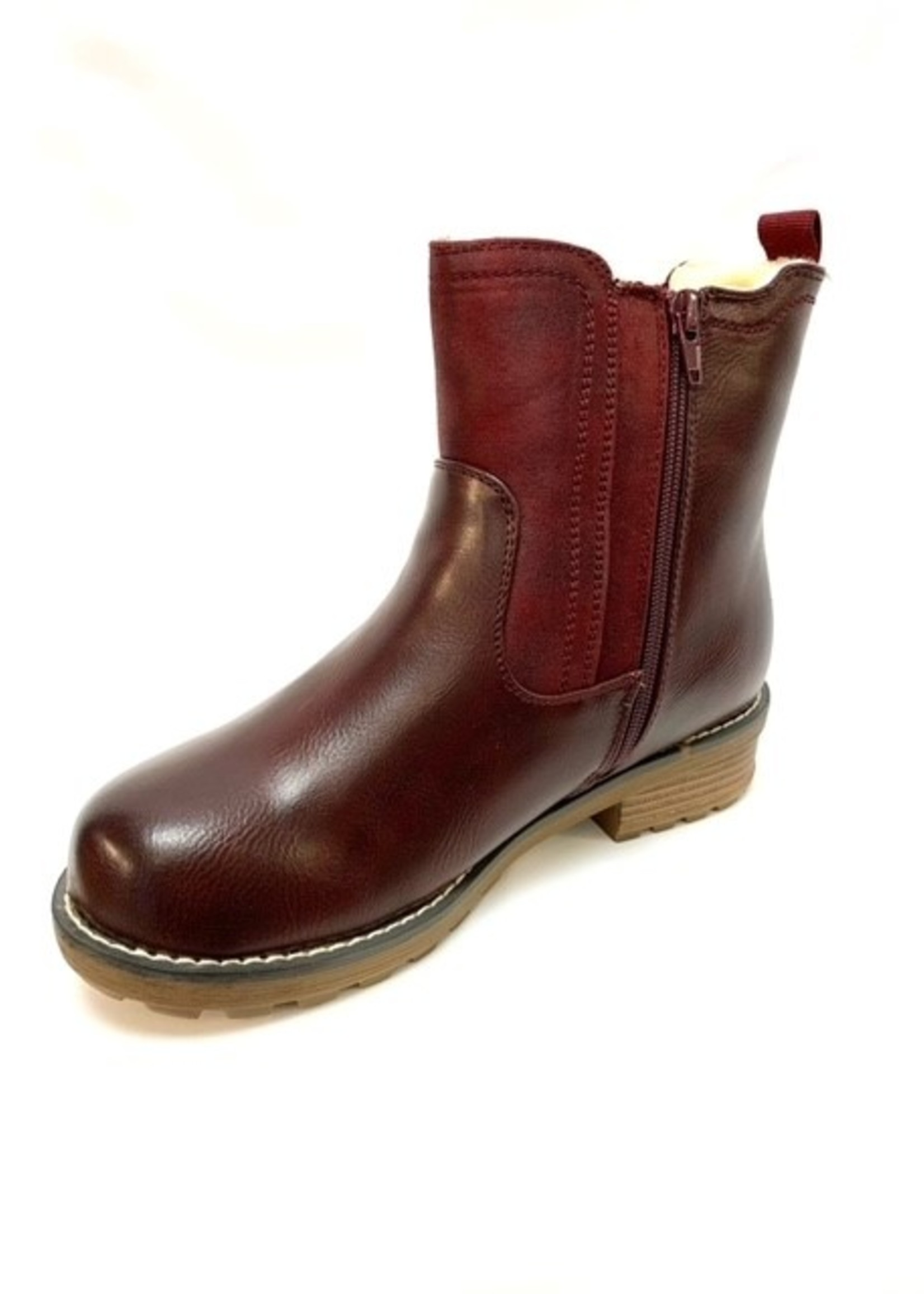 Frontier North short winter boot, three colors available
