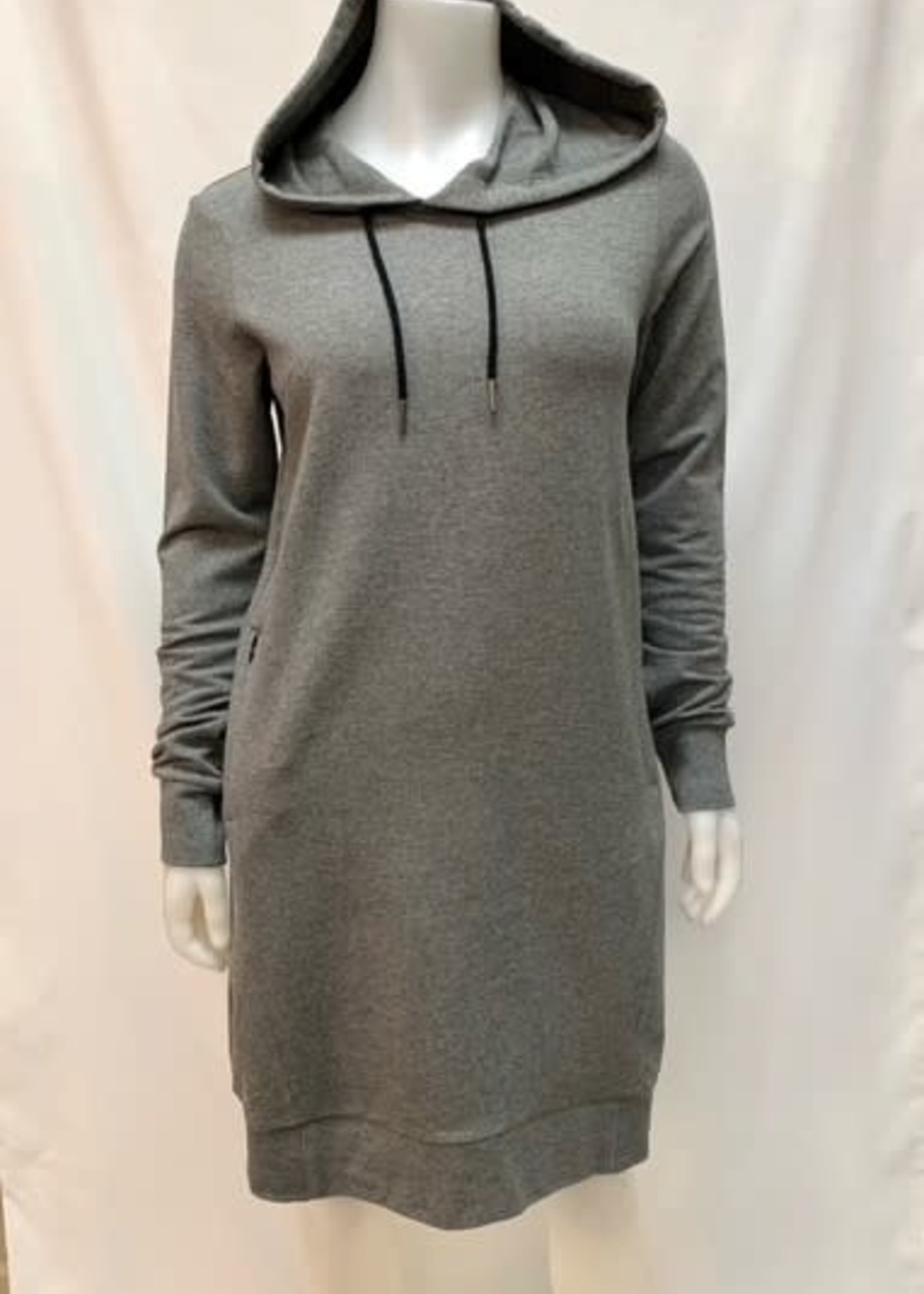 Point Zero  hooded dress with pockets