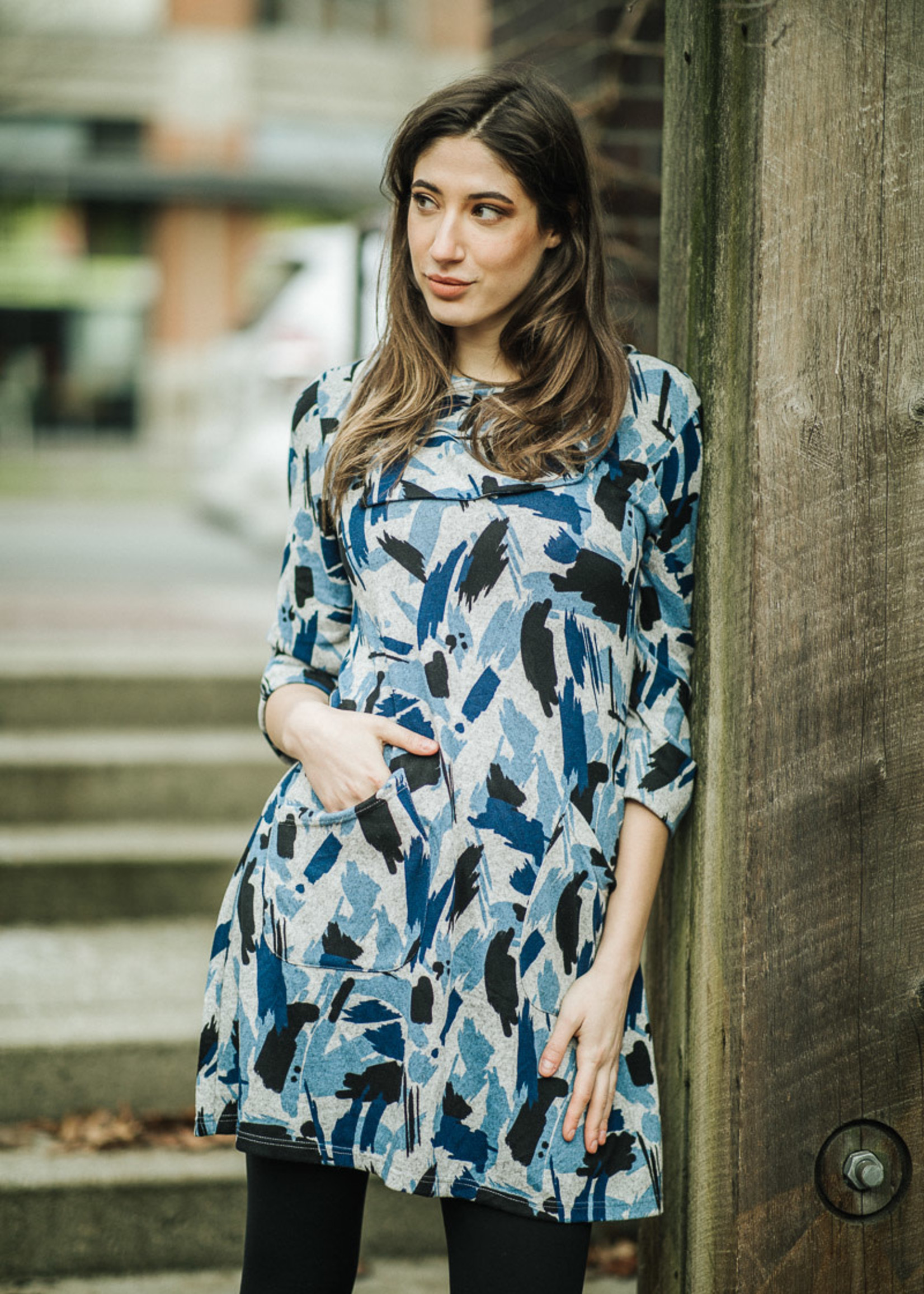 Papillon Aline 3/4 sweater dress