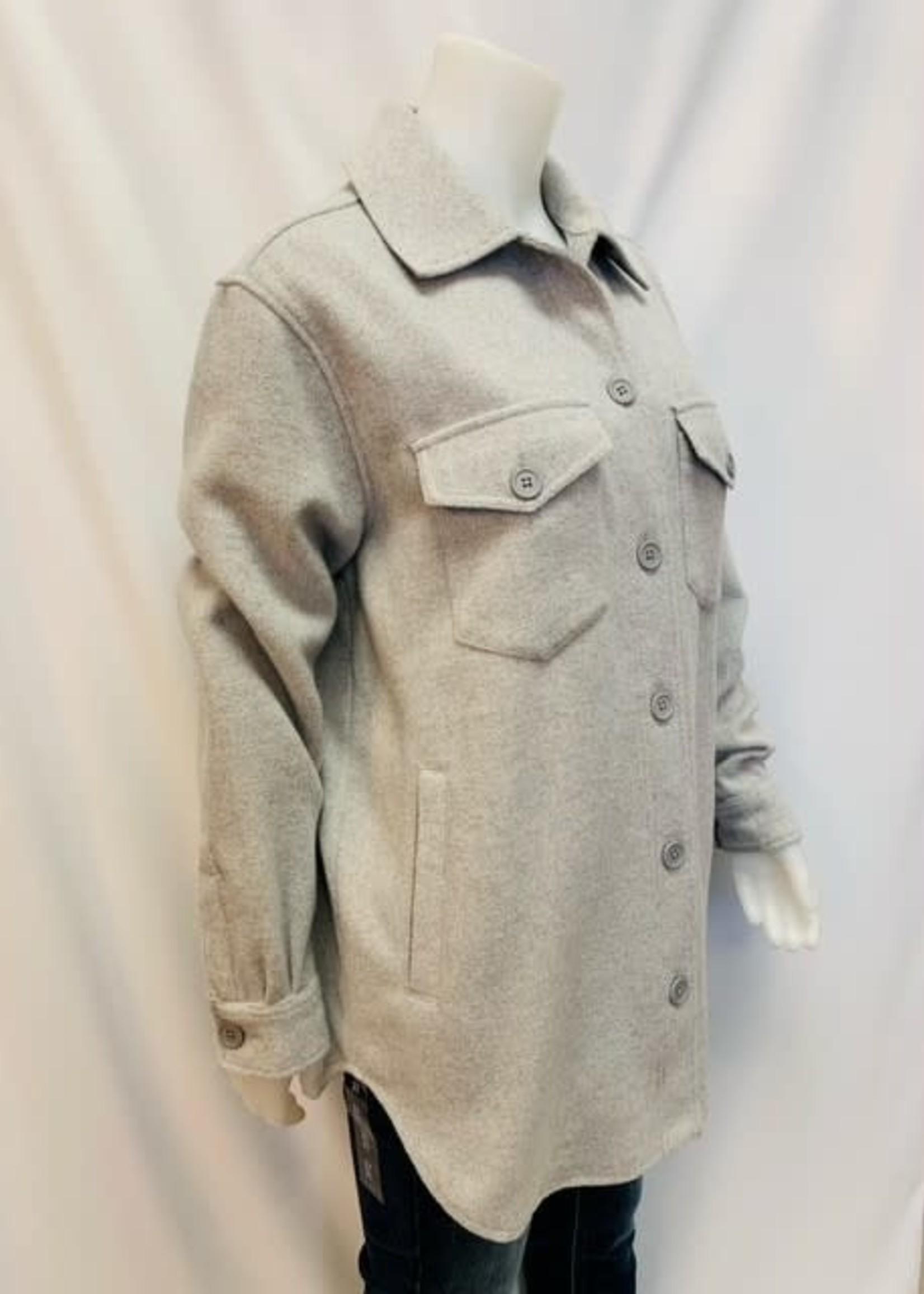 DKR & Co Button shirt jacket