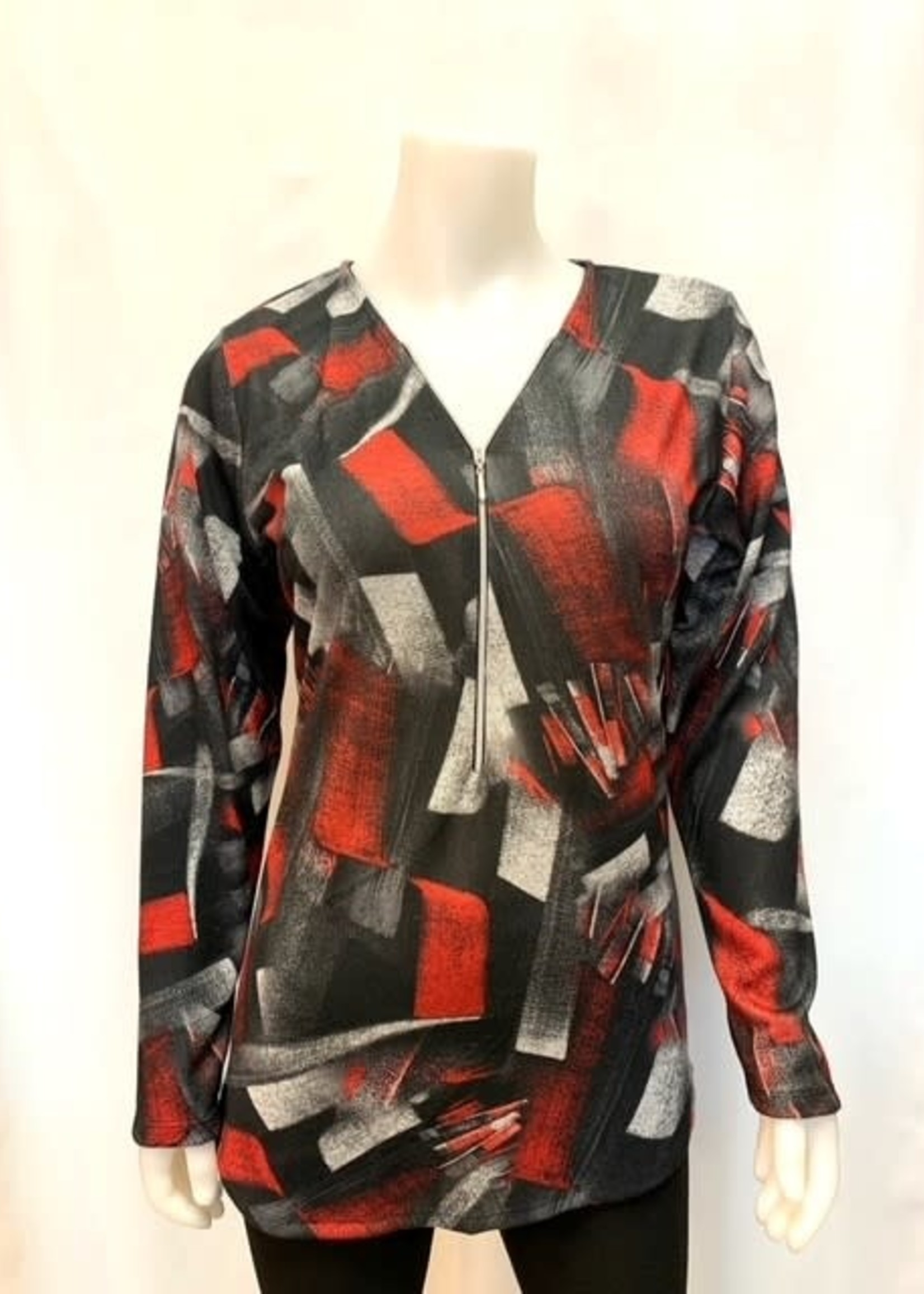 Julia Divina Long Sleeve print top, available in 3 prints