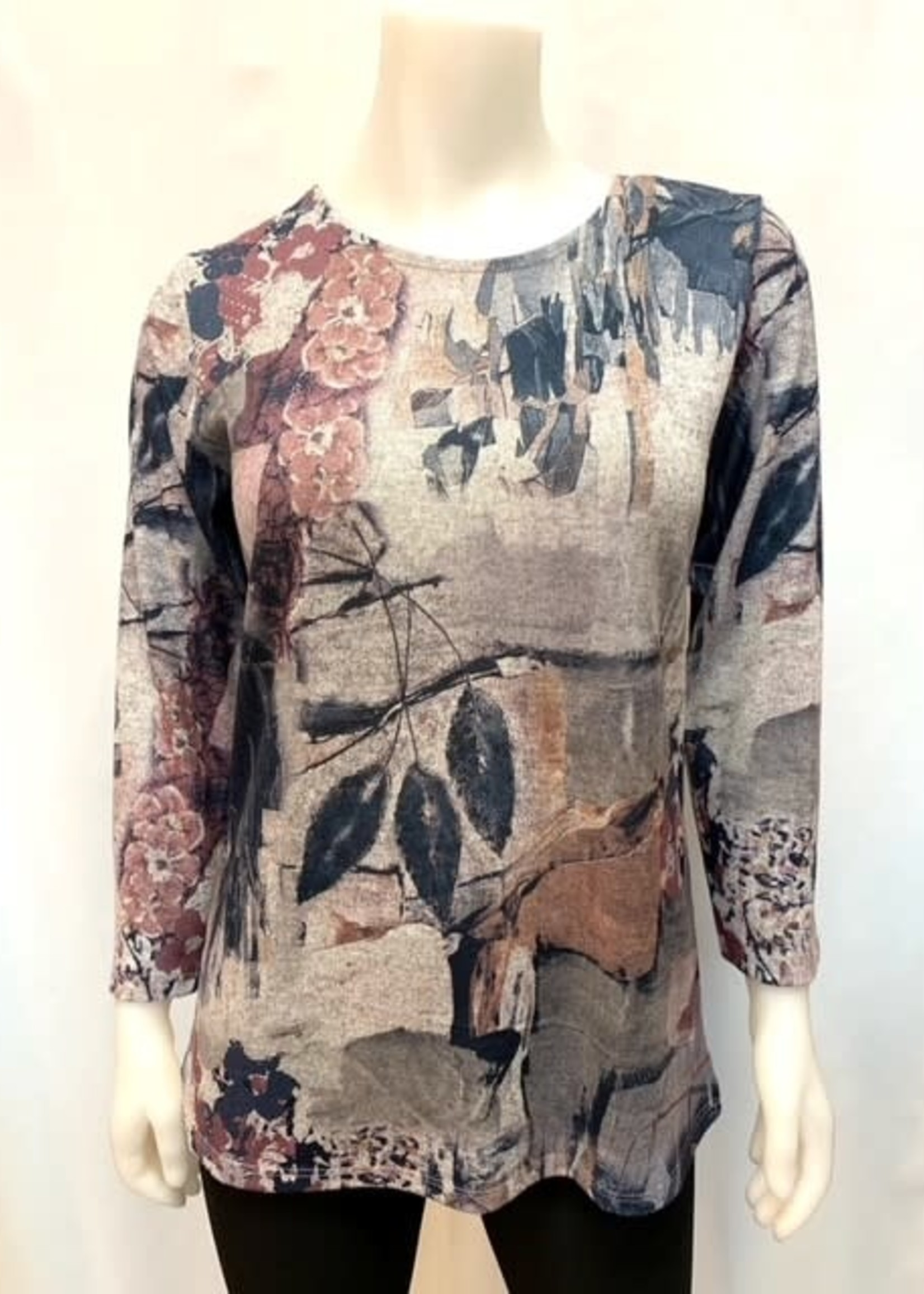 Julia Divina Print top, available in 3 prints