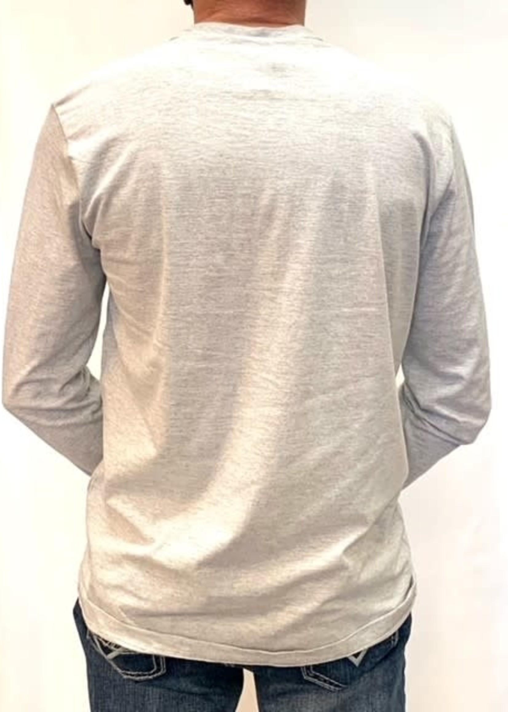 Point Zero Long sleeve crew neck shirt