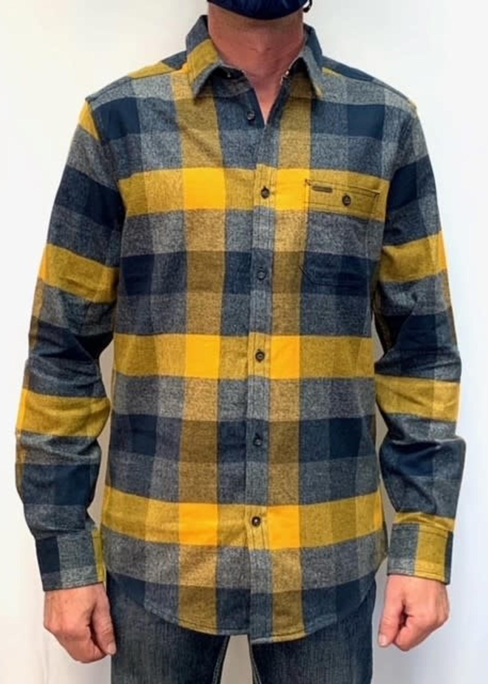 Point Zero Cotton flannel shirt
